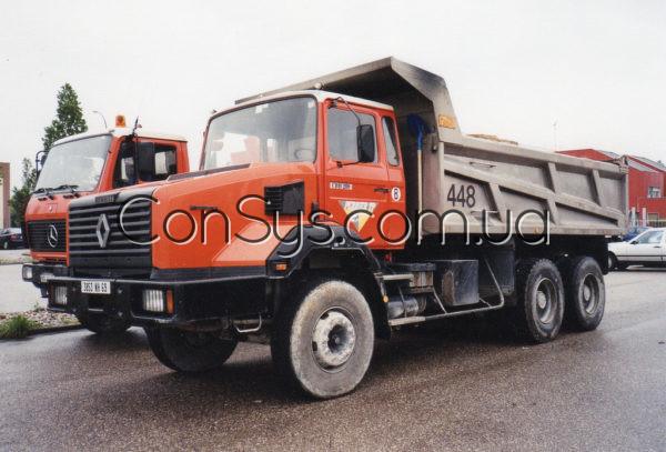 Трос управления акселератором (трос газа) для грузовиков RENAULT 385 (индекс 5010213504)