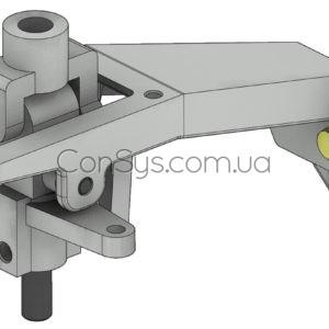 Тросовый привод включения передач грузовик МАЗ-544019
