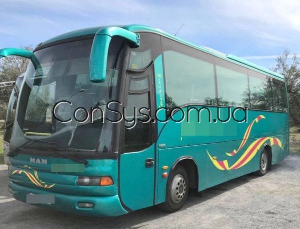 Трос переключения КПП автобус MAN 11220
